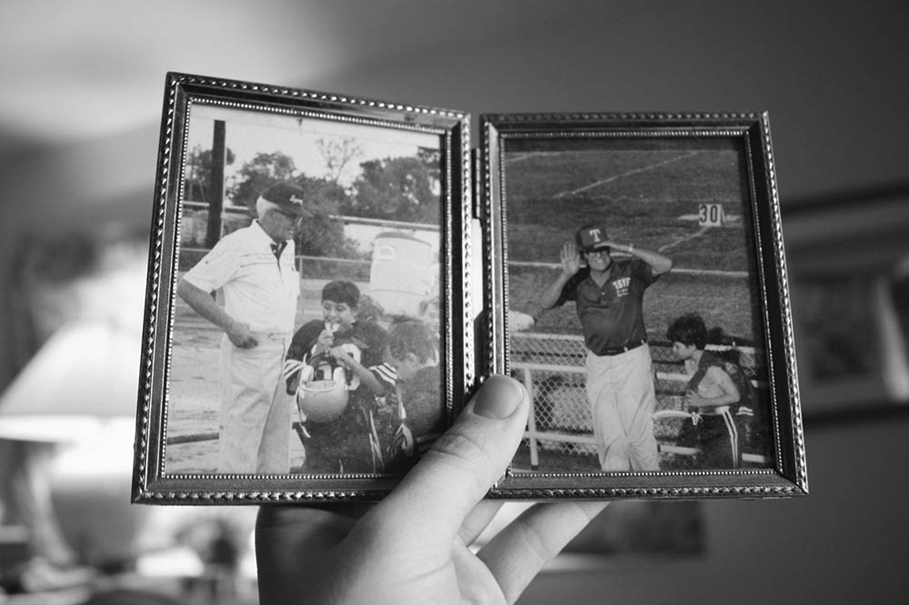 Old Photograph in Frame