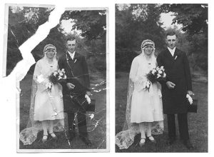 Example Photo Restoration Minor Damages