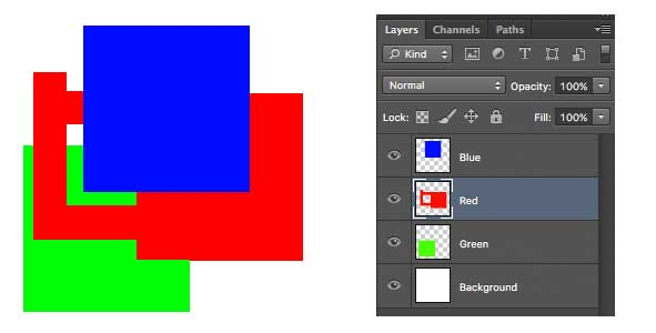 another example of layers in photoshop